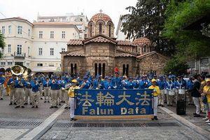 歐洲天國樂團首次亮相希臘雅典 受歡迎