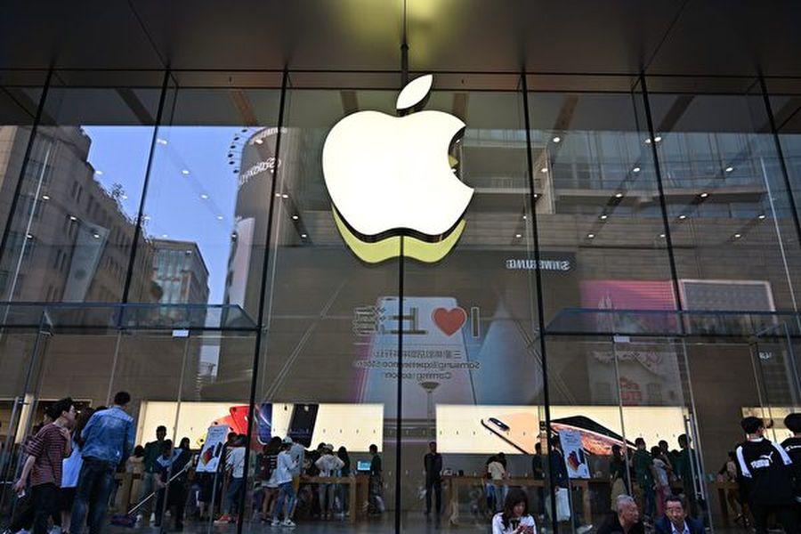 蘋果公司在10月9日從App Store中下架了「香港即時地圖」(HKmap.live)應用程式,引發熱議。(HECTOR RETAMAL/AFP)