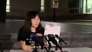 港中大女生揭警性暴力收輪姦恐嚇信 校長發公開信