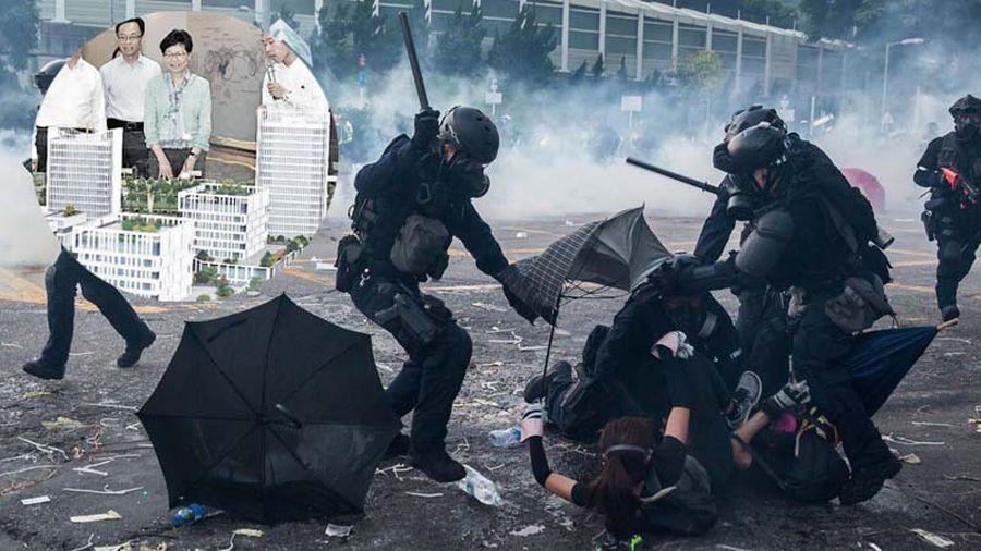 香港政府正在爭取以「最優惠價格」,讓基層警察到廣東肇慶置產養老。(Getty Images/合成圖片)