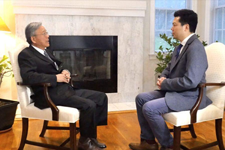 《曉天訪談》專訪了紐約後援會副主席、民進黨美東黨部主委賴弘典,暢談2020台灣總統大選及立委選舉的重要性,並談到僑界對於「蔡賴配」的期待。(新唐人)