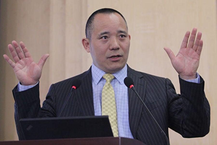 圖為中國人民大學國際貨幣研究所理事兼副所長向松祚。(大紀元資料室)
