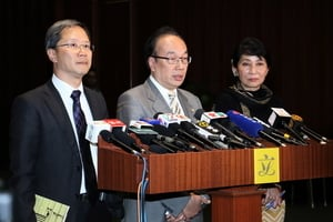公民黨向政府重申反對一地兩檢