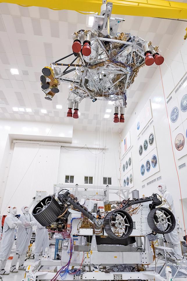 2020火星探測車著陸系統測試完成