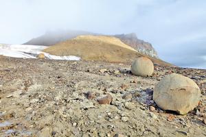 北極圈小島巨大石球  令科學家費解
