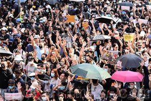 香港人要求真正一國兩制 「沒有搞獨立」