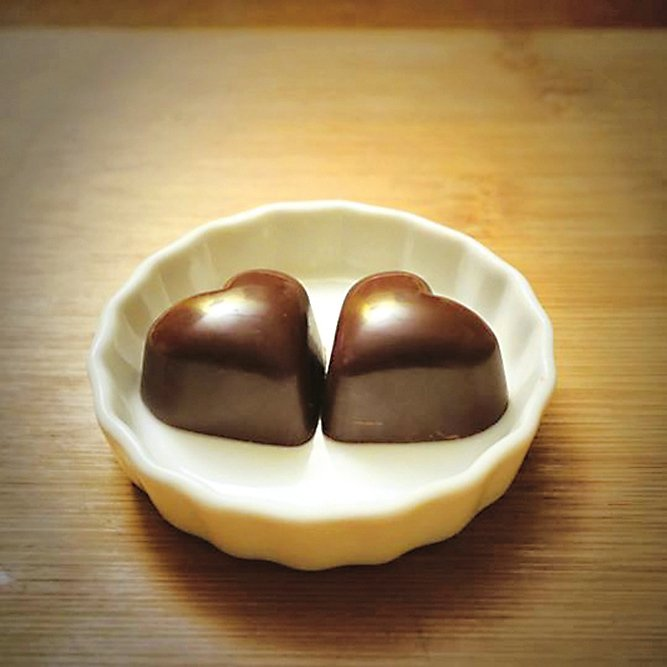 Valentine's day chocolate  情人節心形朱古力