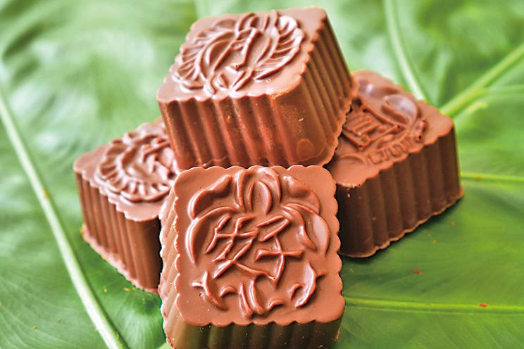 Mooncake chocolate  中秋月餅朱古力