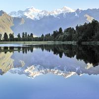有一種空茫,凝白如畫 :  紐西蘭庫克山