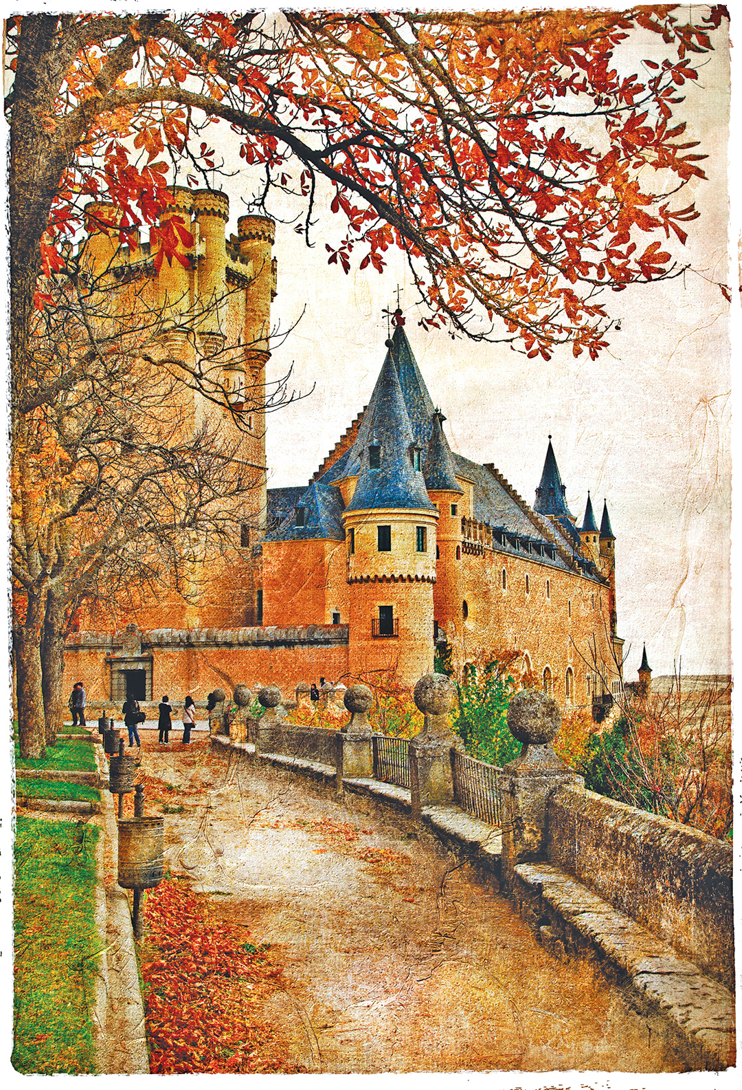 塞哥維亞城堡。(Fotolia)