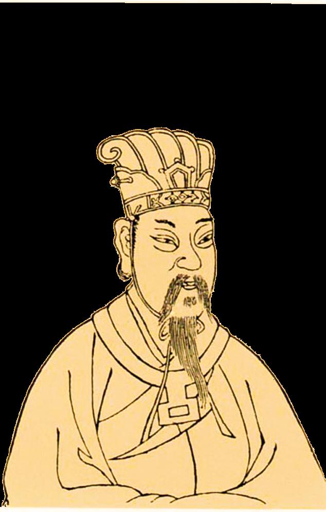 漢宣帝像。(公有領域)