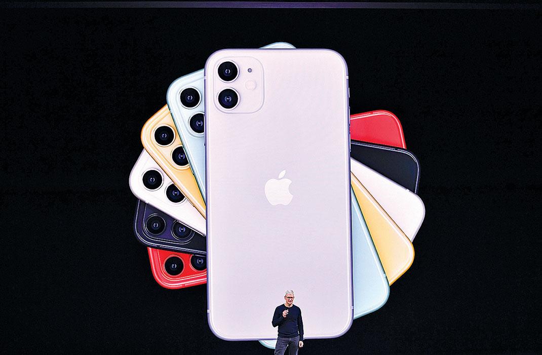蘋果的iPhone依然是其它公司力圖在商業上超越的產品。(AFP)