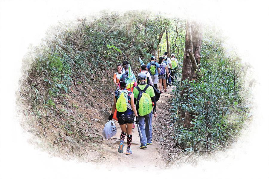 愛護山林身體力行 行山清徑有先鋒