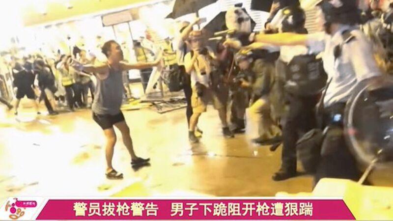 「香港坦克人」和民陣獲獎 美兩黨議員支持