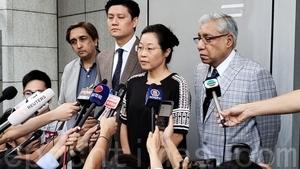 譚文豪毛漢等投訴警方濫用水炮車