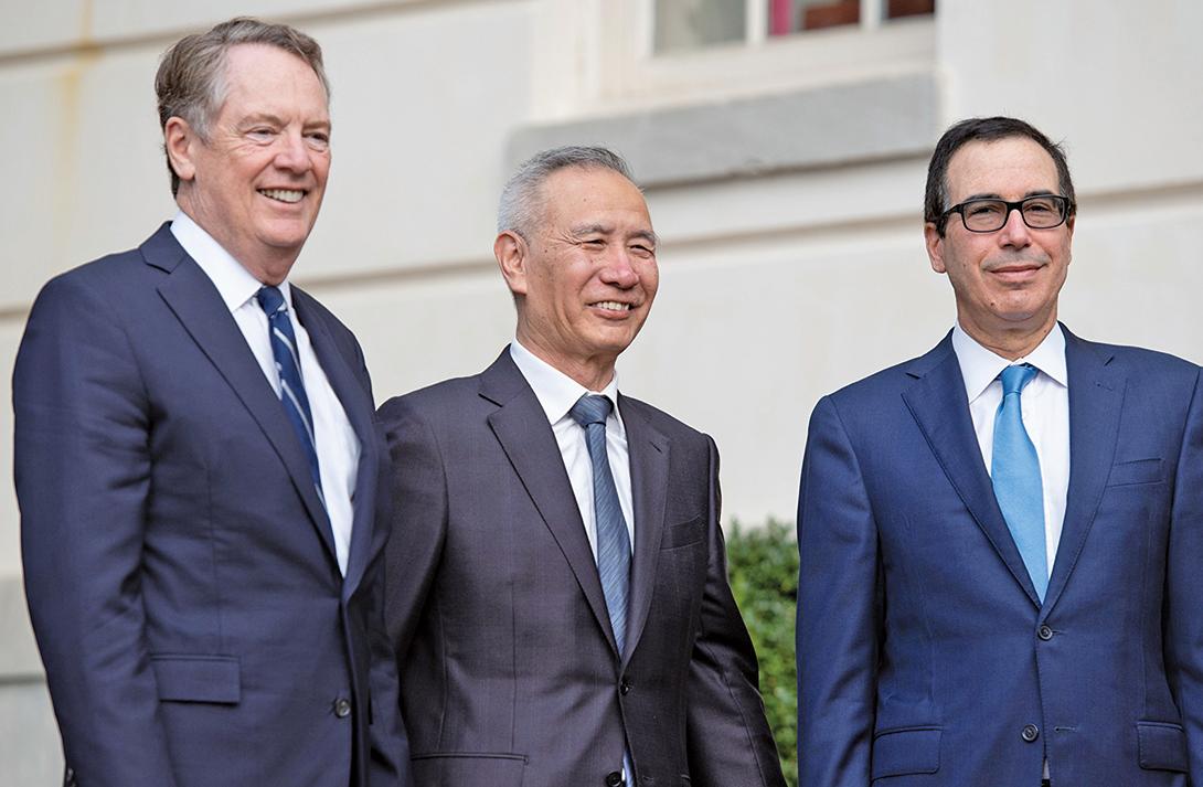 白宮首席經濟顧問庫德洛10月21日表示,第13輪中美高級別貿易談判後,中方的反應與之前多輪談判有很大不同。(AFP)