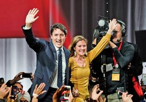 加拿大總理杜魯多贏得大選