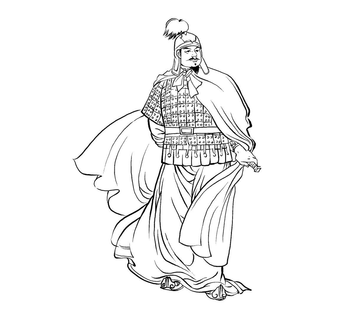 李由,秦朝丞相李斯的長子,被任命為三川郡郡守,駐守洛陽,秦末民變時陣亡。