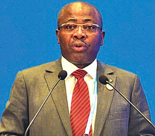 第六屆大會,非洲小國加蓬的新聞數字經濟部部長成為到場的重要「政要」。( 大紀元資料室)