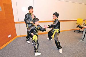 兒童學傳統武術減攻擊行為