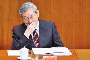 朱鎔基署名信首度披露健康問題