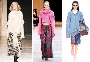 秋冬毛衣的7種基本搭配
