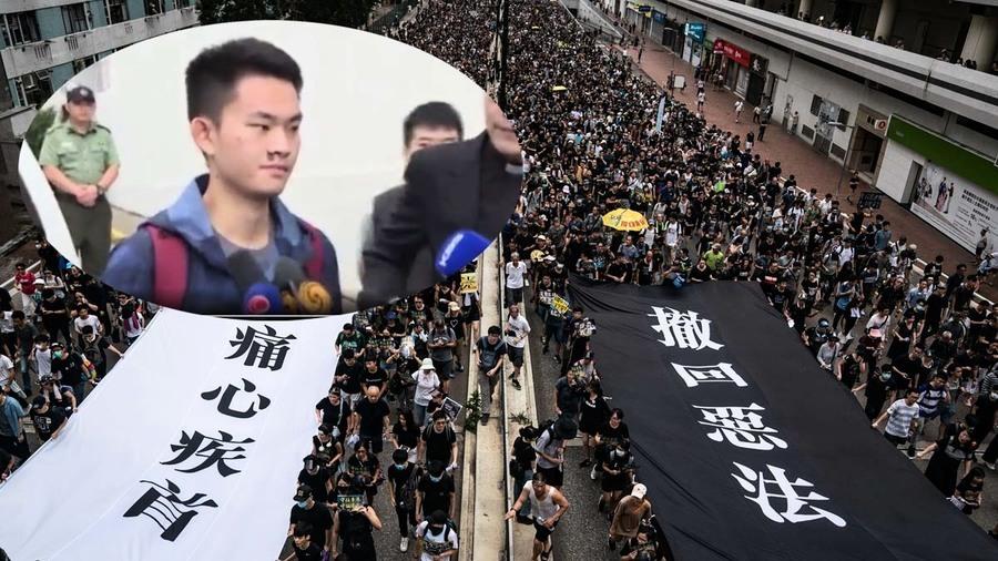 陳同佳出獄未去台灣 網傳新成語諷「林鄭脫逃」