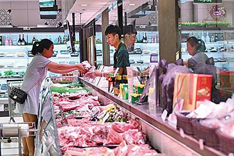 陸九月進口豬肉增七成年底通脹恐達4%