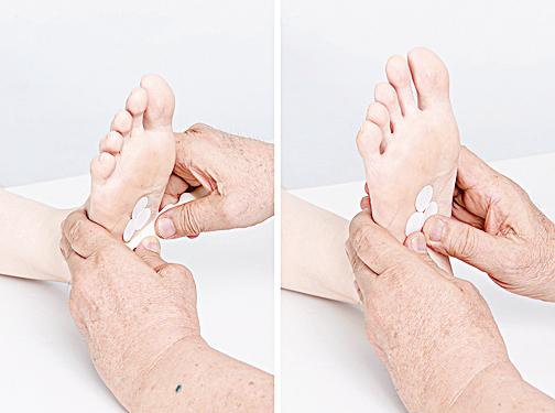 按按腳底增強肝功能 教你七招保肝腳部按摩法