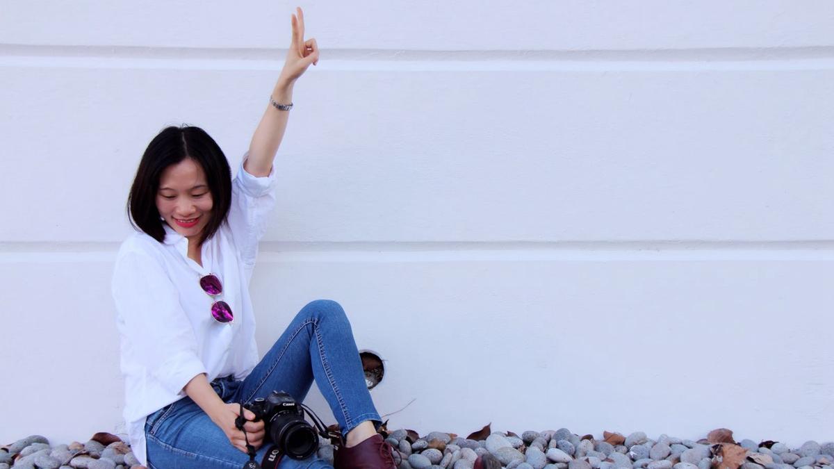 中國廣州獨立記者黃雪琴曾赴港參加採訪反送中抗議,迄今已失聯一週。(黃雪琴MATTERS)