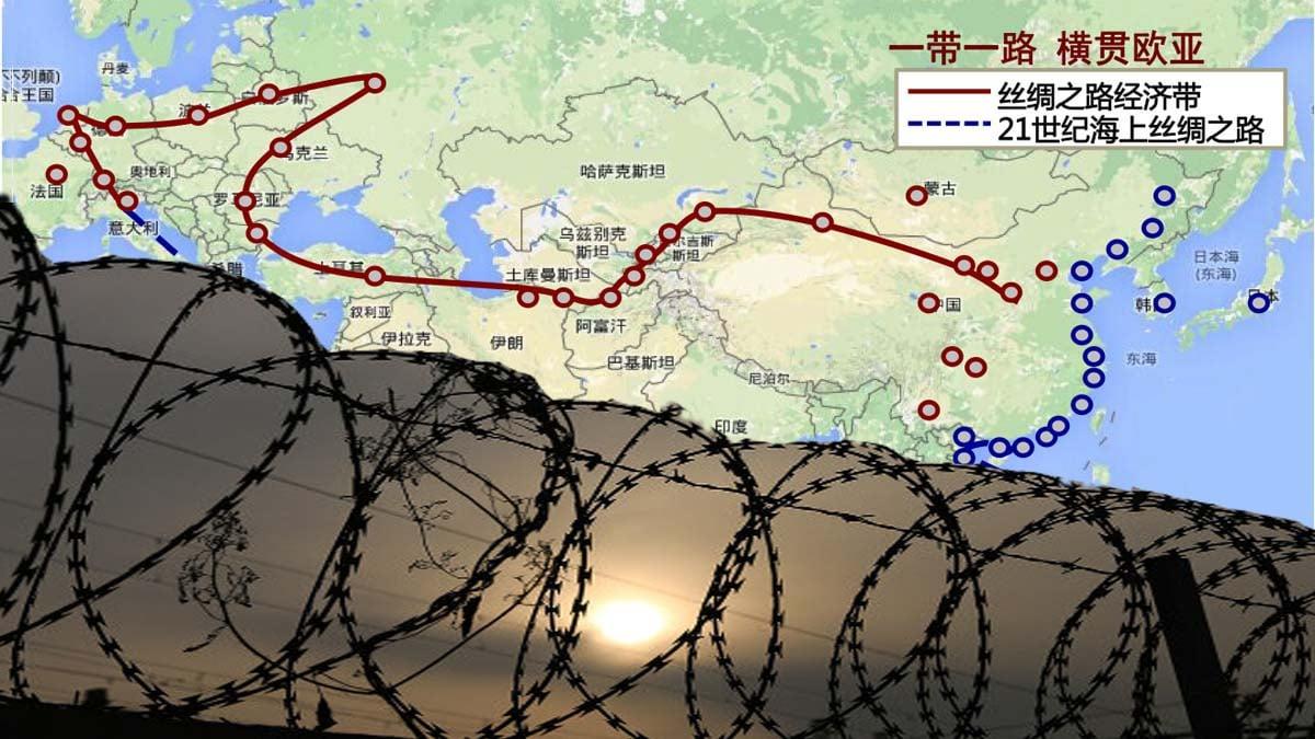中共黨媒公開宣稱,「一帶一路」的最終目標是打造「人類命運共同體」,即用「中國(共)模式」統治世界。(網絡圖片)
