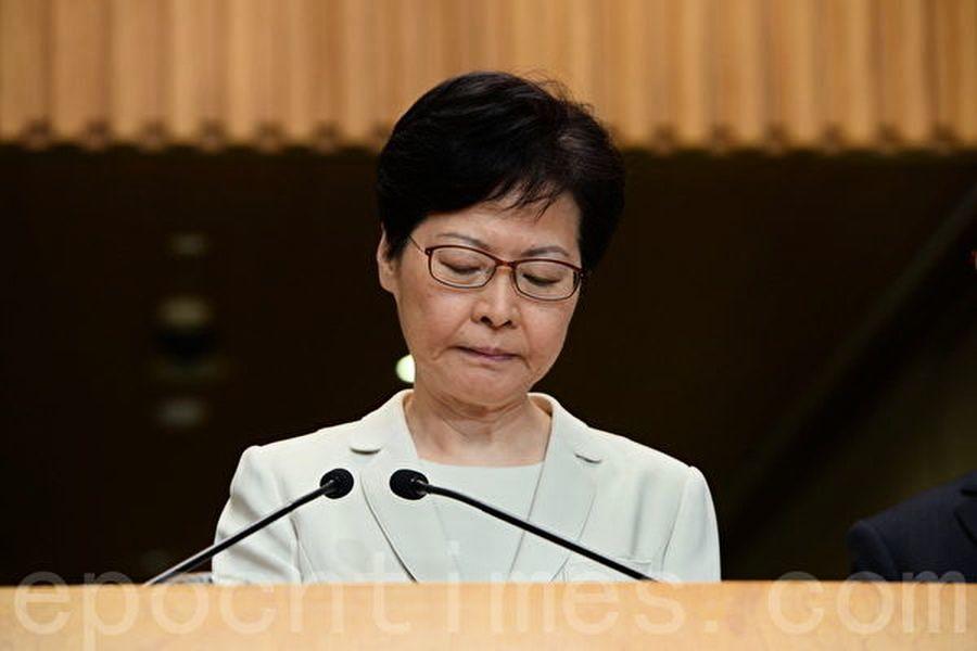 中共官方力挺林鄭 官媒卻噤聲引發揣測