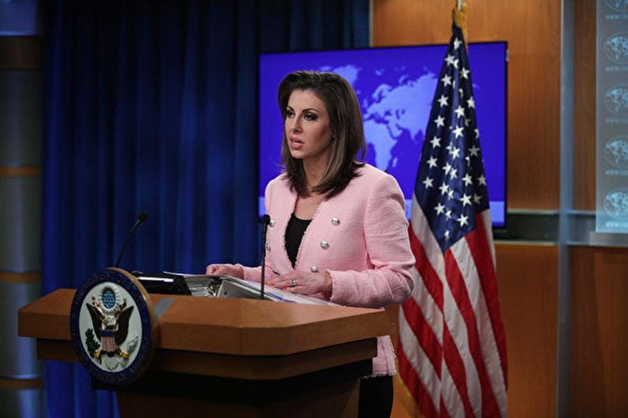 美國國務院發言人10月24日駁斥中共外交部所謂的「美方簽證武器化」指稱,並確認有中方參加國際宇航聯大會。(Alex Wong/Getty Images)