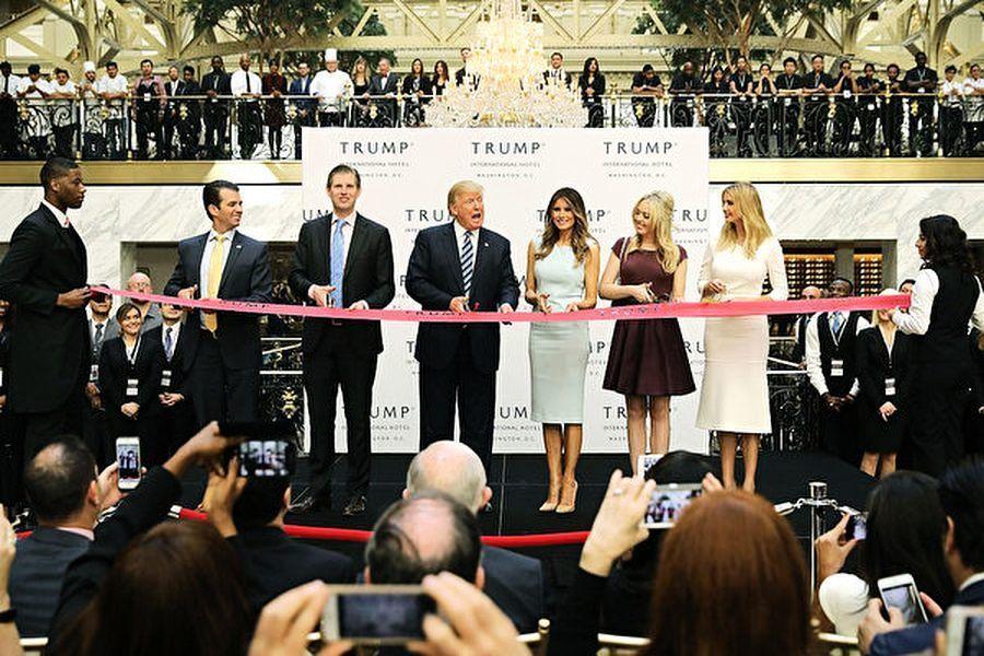 特朗普集團計劃出售「特朗普國際酒店」