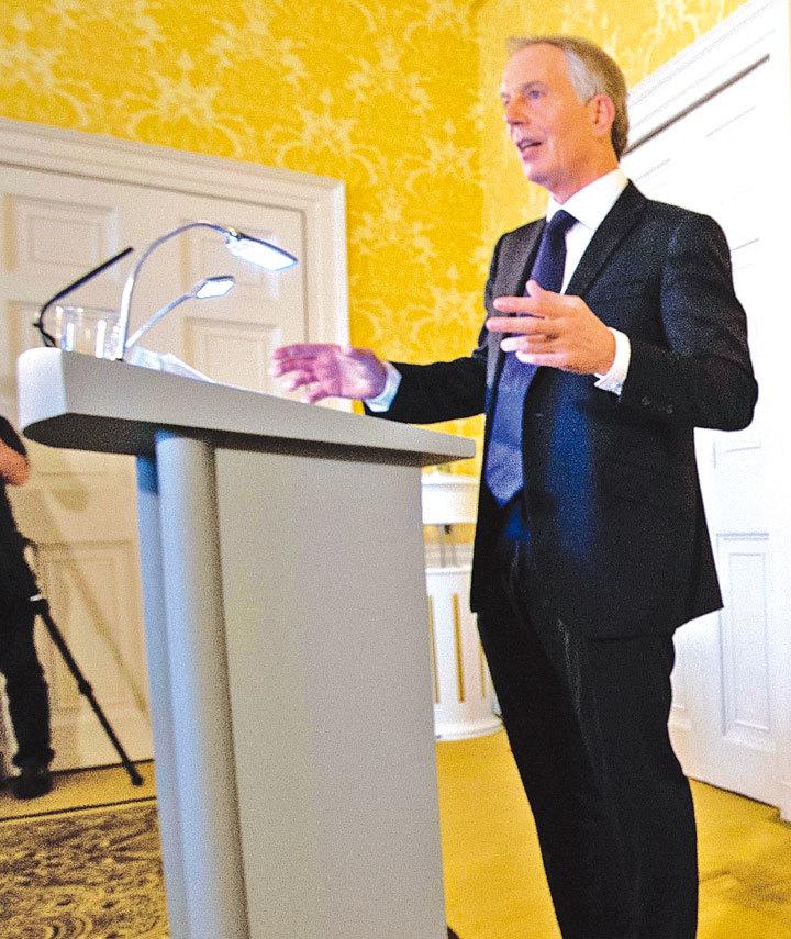 貝理雅為英國參戰辯解。(Getty Images)