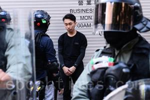 【10.27集會】【組圖】旺角彌敦道 多民抗爭市民被拘捕