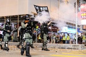 應對香港局勢 將留聘千名退休警察