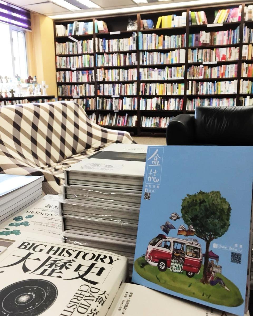 這些年來走訪不同的社區,將刊物散播出去,也讓他感觸良多,Simon希望鼓勵人們重拾紙質閱讀的樂趣。(受訪者提供)