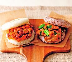 墨西哥辣肉醬米漢堡