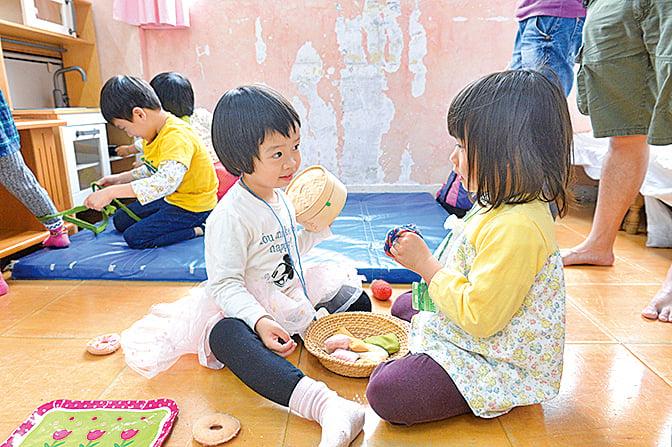 鄉師自然學校開放日吸引小朋友參與。