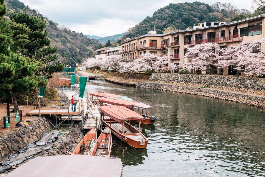 日本京都五大櫻花秘境