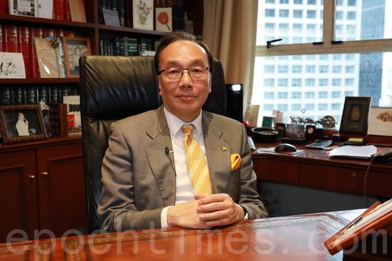 公民黨主席、資深大律師梁家傑接受了本報的採訪。(王偉明/大紀元)