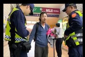 又一中國遊客因破壞台灣連儂牆被移送法辦