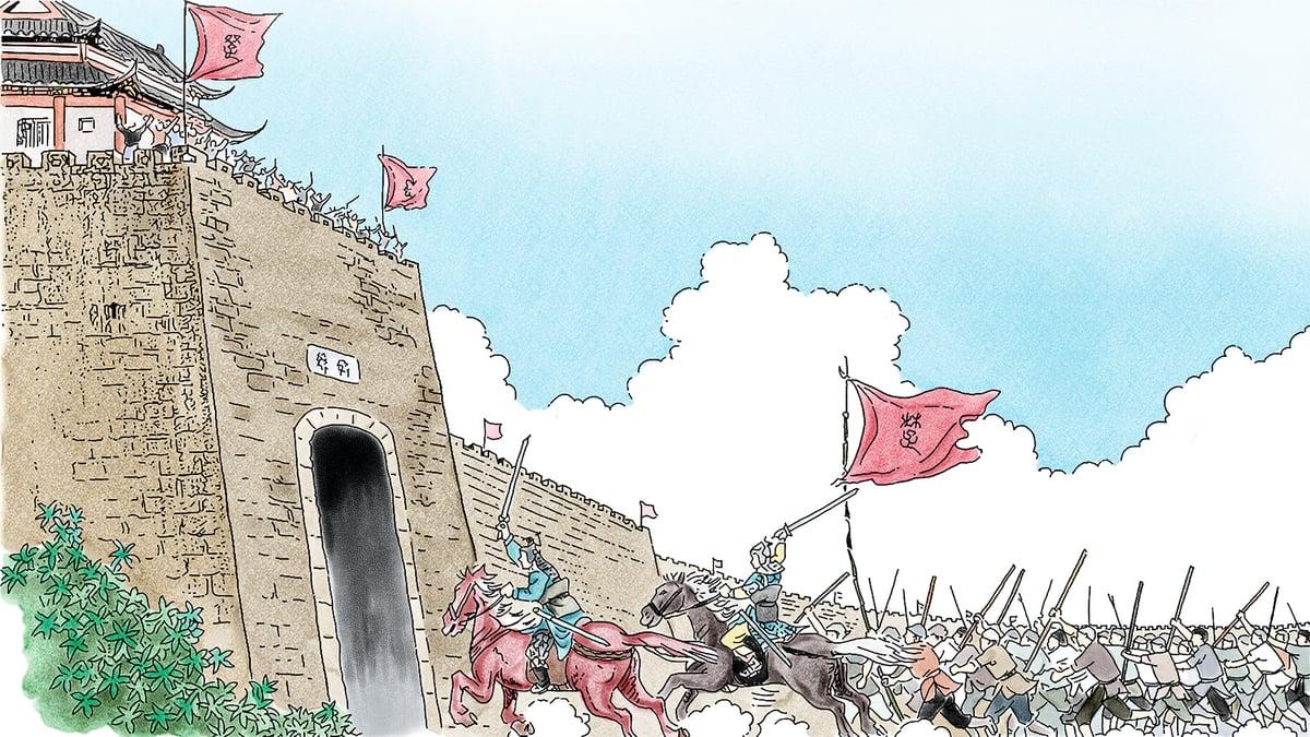 僅僅一個月的時間,起義軍就占領了河南和安徽交界地方的六個城,兵車達到六七百輛,騎兵一千多人,步兵十幾萬人,發展速度非常之快。