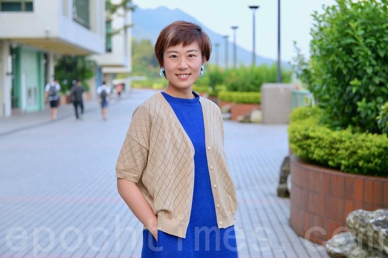 香港教育大學任職社會學系講師黎明。(宋碧龍/大紀元)
