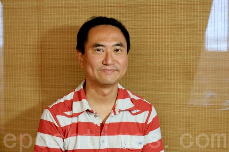 中國問題專家、資深傳媒人以及網絡電台主持人方德豪接受《大紀元》專訪。(影片截圖)