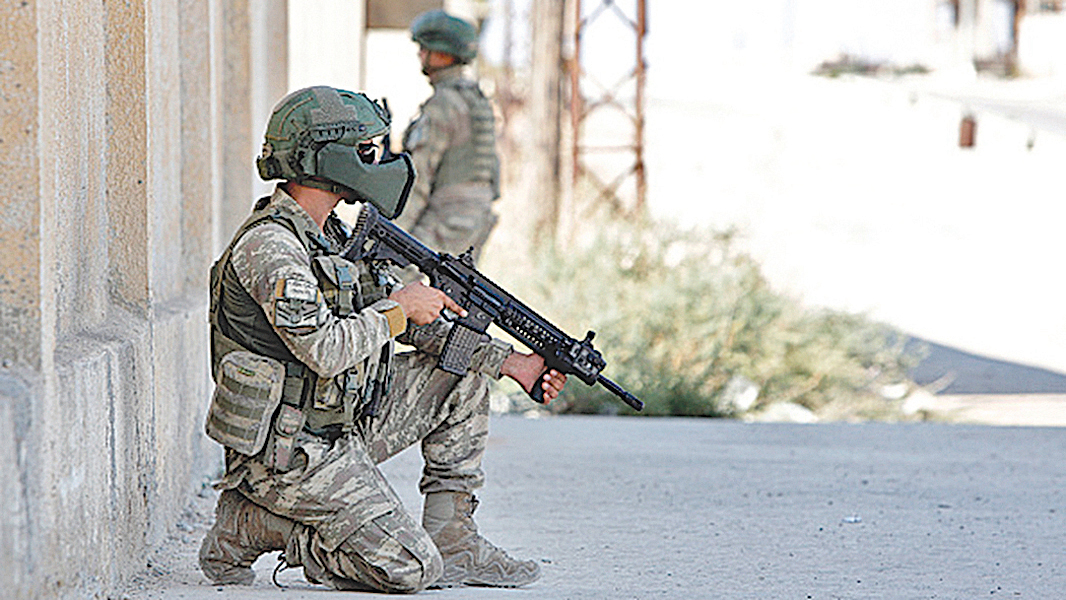 據悉,獵殺恐怖組織ISIS頭目巴格達迪的是美國三角洲部隊。圖為示意圖。(AFP)