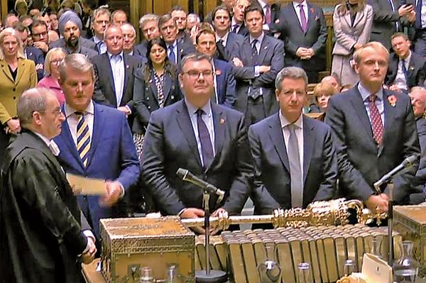 英國12.12國會大選