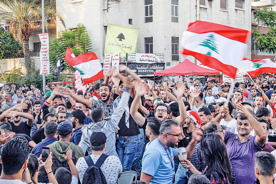 全民反貪 黎巴嫩總理被迫辭職