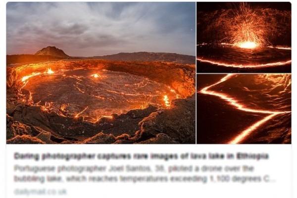 攝影師深入「地獄之門」 冒險捕捉壯觀奇景
